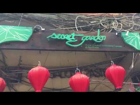 Road To Secret Garden Restaurant - Ho Chi Minh City