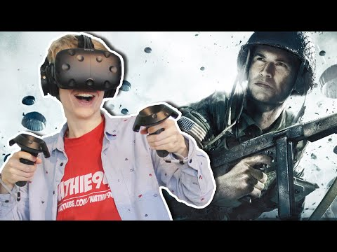 WORLD WAR 2 VR GAME! | The Last Sniper VR (HTC Vive Gameplay)