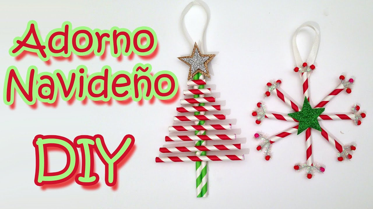 Manualidades de navidad 2 adornos navide os christmas - Manualidades de navidad ...