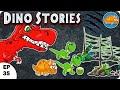 Coconut Football l Dino Stories l Dinosaurs Cartoon For Children | Dinosaur Story for kids l Ep 35