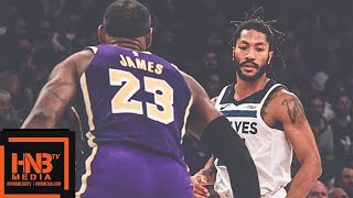 Los Angeles Lakers vs Minnesota Timberwolves Full Game Highlights | 11.07.2018, NBA Season thumbnail