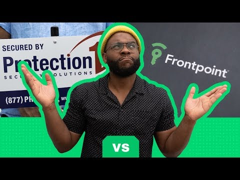 ADT Vs  Frontpoint Security System Review