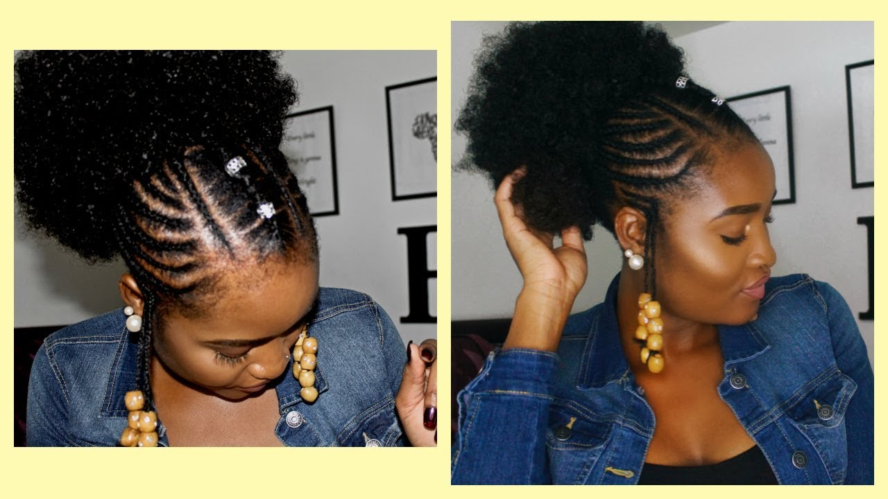 how to put beads in hair without braids