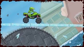 Moto X3M Bike Race Game   ATV Bike Winter All Levels Gameplay