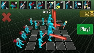 Stickman Simulator Battle of Warriors Android Gameplay HD