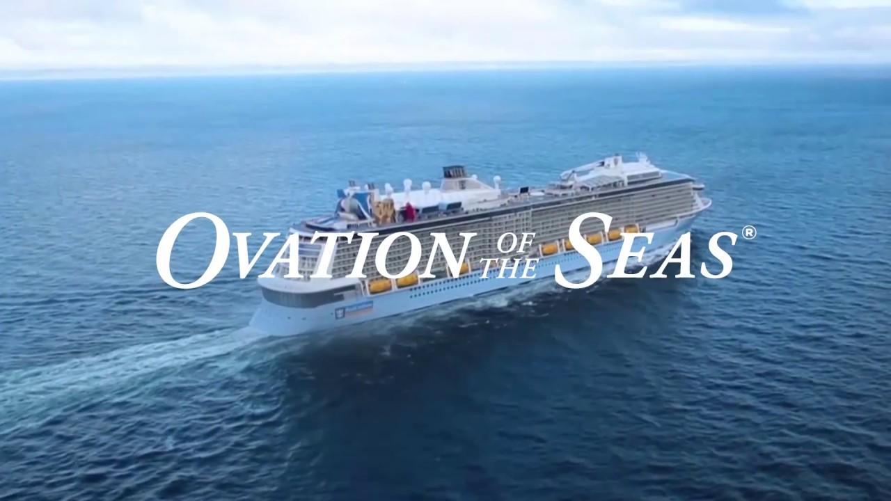 Ovation of the Seas - Supercruising in Australia