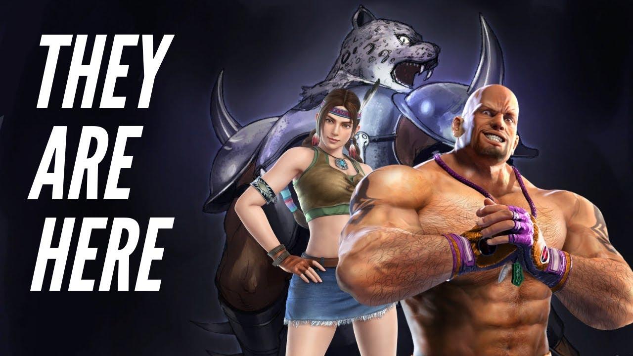 Three New Characters In Tekken 7 Marduk Armor King Julia Youtube