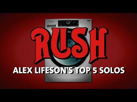 Rush: Top 5 Guitar Solos
