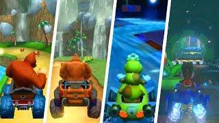 Download Evolution of Mario Kart 7 Retro Tracks (2011 - 2018