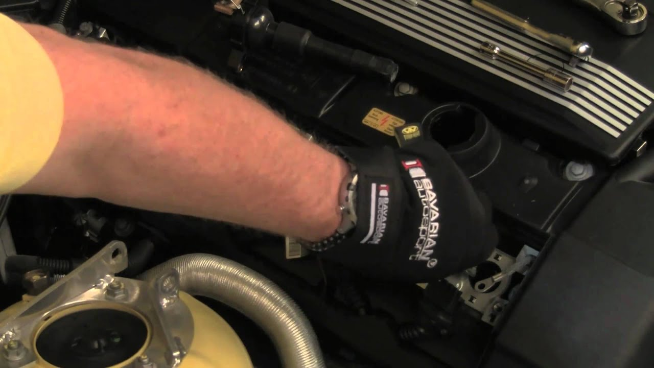 Replacing Bmw Spark Plugs Ignition Coils Youtube E64 Engine Wiring Harness