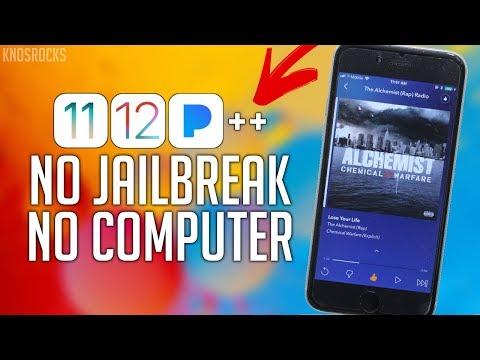 How To Get Pandora ++ FREE IOS 13 - 13.3 / 12 / 11 / 10 NO Jailbreak / PC IPhone IPad IPod 12.4.1