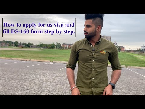 Apply For USA Tourist Visa As A Student Step By Step From Canada? | Fill DS 160 Form.