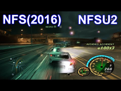 need for speed 2016 vs nfs underground 2 2004 graphics comparison youtube. Black Bedroom Furniture Sets. Home Design Ideas
