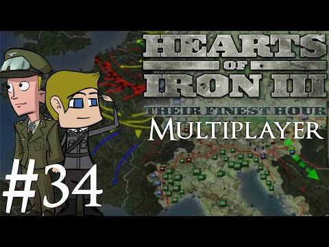 Hearts of Iron 3 | Multiplayer | The Pact of Steel | Part 34