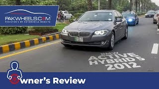 BMW Active Hybrid 5 Owner's Review: Price, Specs & Features | PakWheels Video