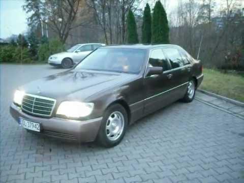 Mercedes Benz W140 S 320 Sel 1993 Youtube