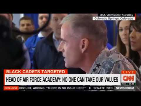 Air Force Academy If you can't treat someone with dignity and respect get out  FULL VIDEO