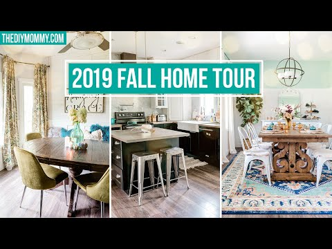 2019 FALL HOME TOUR | Fall DIY & Decor Challenge