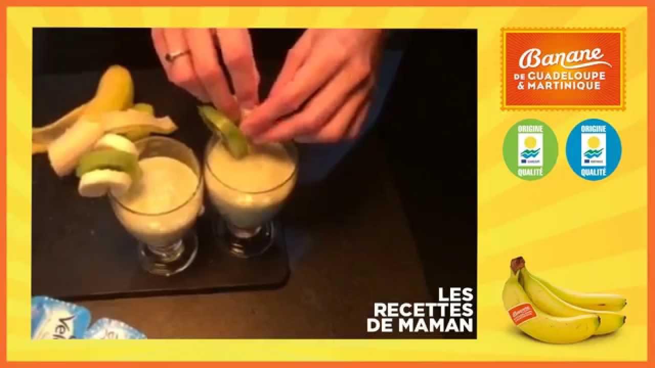 Comment faire un smoothie banane et kiwi la recette de monika youtube - Comment faire des smoothies ...