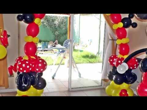 decoracion de globos para ni os youtube