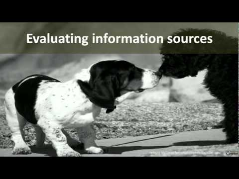 Searching and evaluating information
