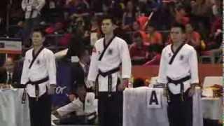 VIET NAM - Team Male under 29 - Final - 8th World Taekwondo Championships Poomsae 2013(Gold)