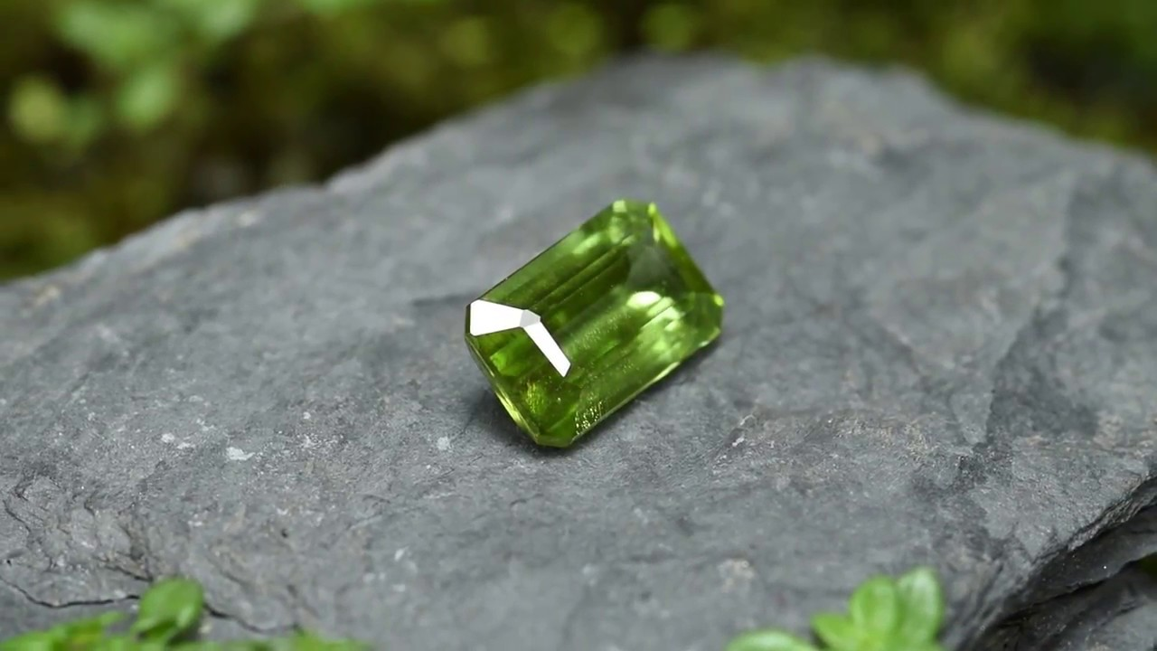 stock also called peridot photo of gemstone olivine