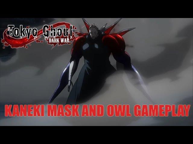 Tokyo Ghoul Dark War /Kaneki (mask) and Yoshimura Owl Gameplay + Code giveaway