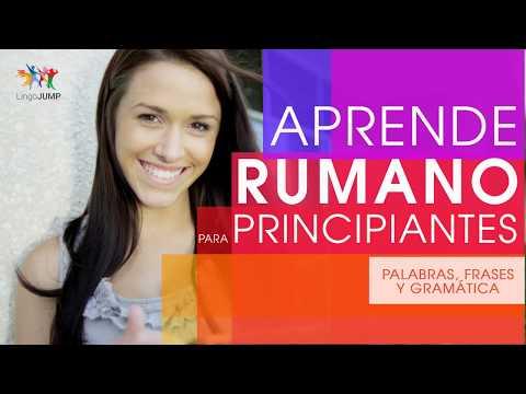 Rumano Para Principiantes ¡Aprende Rápido Palabras, Frases Importantes Y Gramática En Rumano!