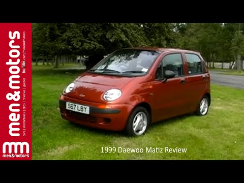 1999 Daewoo Matiz Review