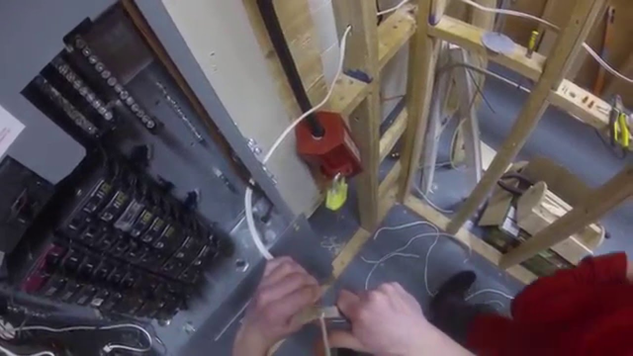 How To Wire A Doorbell Youtube Wiring Transformer Uk
