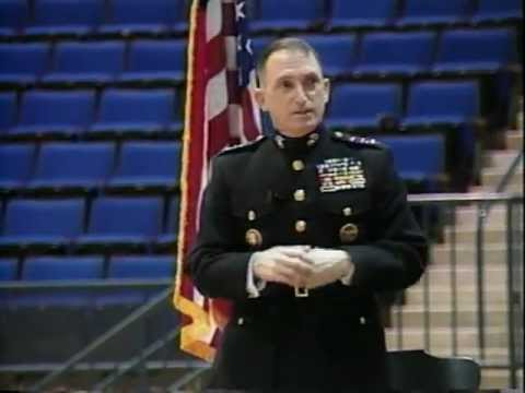 "LTGen Charles Krulak: ""The Importance of Integrity, Loyalty, and Loyal Dissent"" part 2"