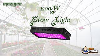 Missyee Full Spectrum 1200W LED Grow Light