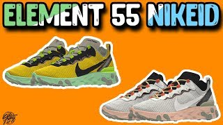Nike React Element 55 on NIKEID