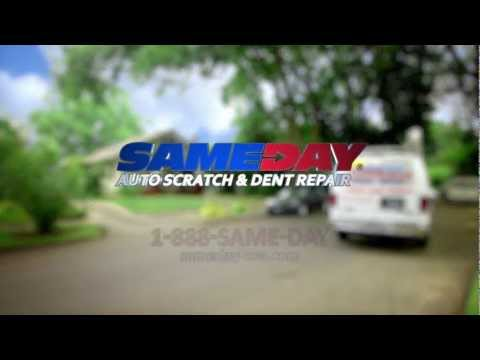 Sameday Auto Scratch and Dent Repair Commercial | Mobile Auto Scratch and Dent Repair Commercial