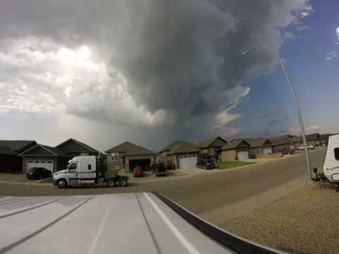 Tornado Warning in effect Martensville July16/2017