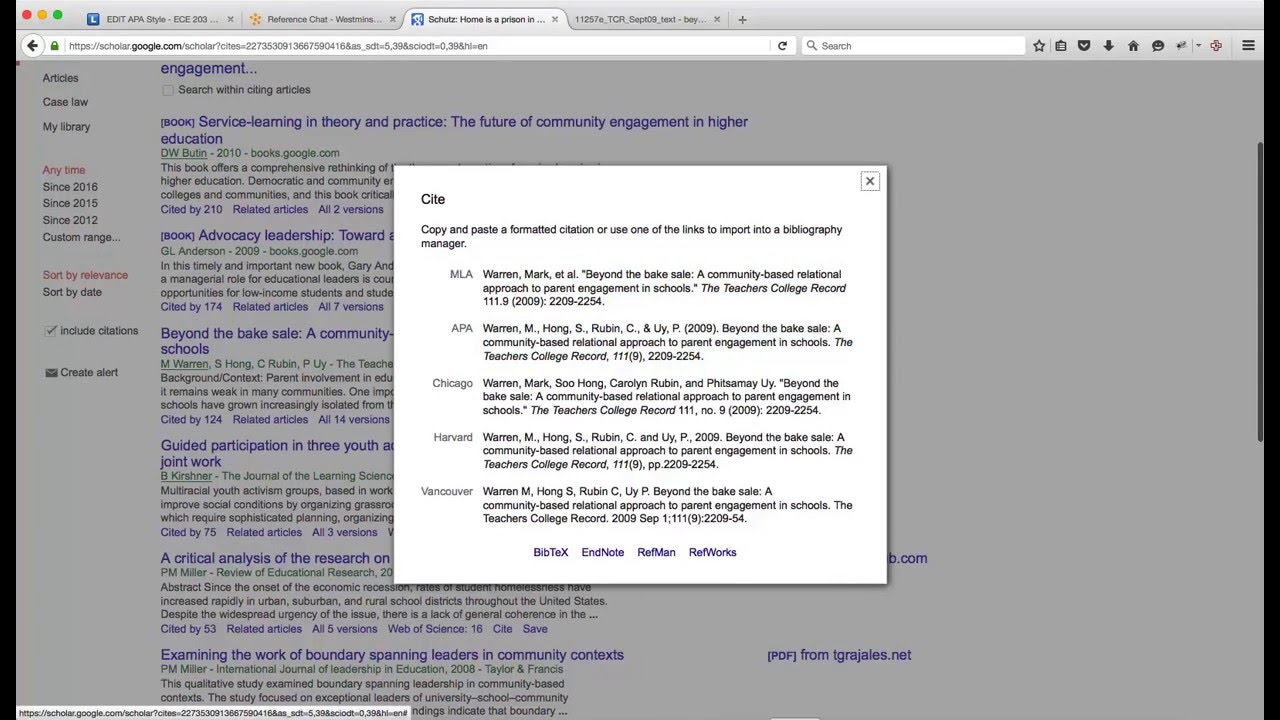 Get the apa citation from google scholar youtube get the apa citation from google scholar ccuart Image collections