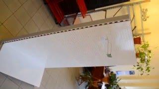 Стеллаж с перфорацией для магазина. Перфорированный торговый стеллаж ВИКО(Отличный новый торговый стеллаж с перфорированными панельными стенками, на которые можно смело навешивать..., 2016-04-06T11:38:42.000Z)