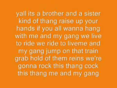 Rascal Flatts-Me and My Gang (with lyrics)