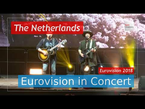 The Netherlands Eurovision 2018 Live: Waylon - Outlaw In 'Em - Eurovision in Concert