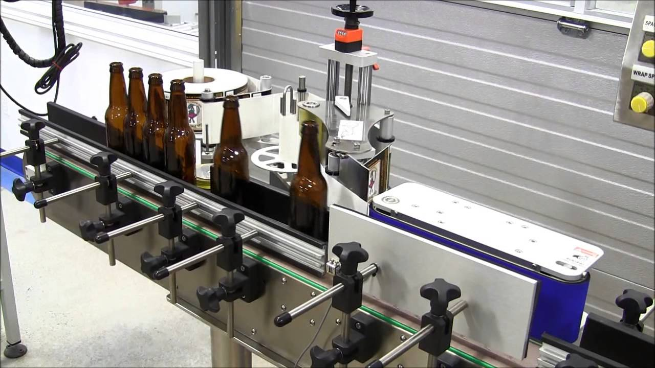 Beer Bottle Labeling Machine Canada Usa