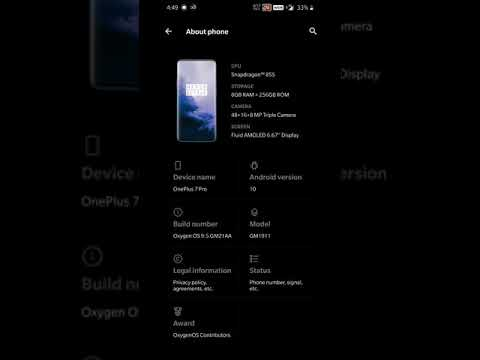 Android Q Developer Preview 4 for OnePlus 7 Pro and 7 - OnePlus