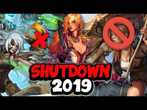 💀 Top Ten Shutdown Games 2019 -  I'll miss you | SKYLENT