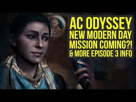 Assassin's Creed Odyssey Update To Add NEW MODERN DAY MISSION?! & More News! (AC Odyssey update) thumbnail