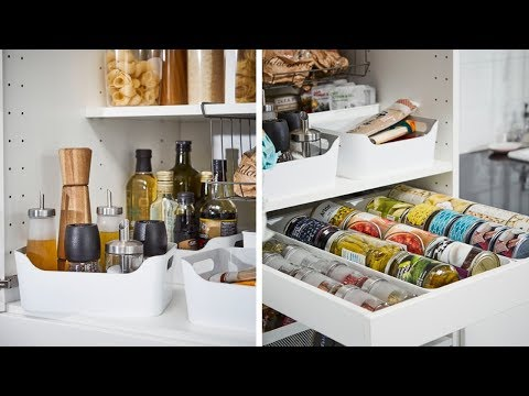 ikea Pantry organization ideas for your kitchen