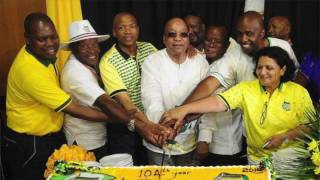 The ANC's 105 millionth Birthday Party