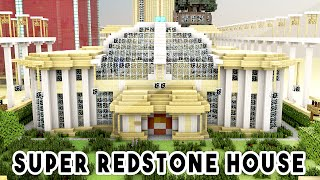 SUPER REDSTONE HOUSE (1000+ Redstone Creations!!) - Biggest Redstone House Ever!