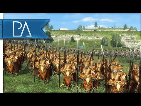 GREAT AMBUSH IN MIRKWOOD: SIEGE BATTLE - Lord of the Rings - Third Age Total War Reforged