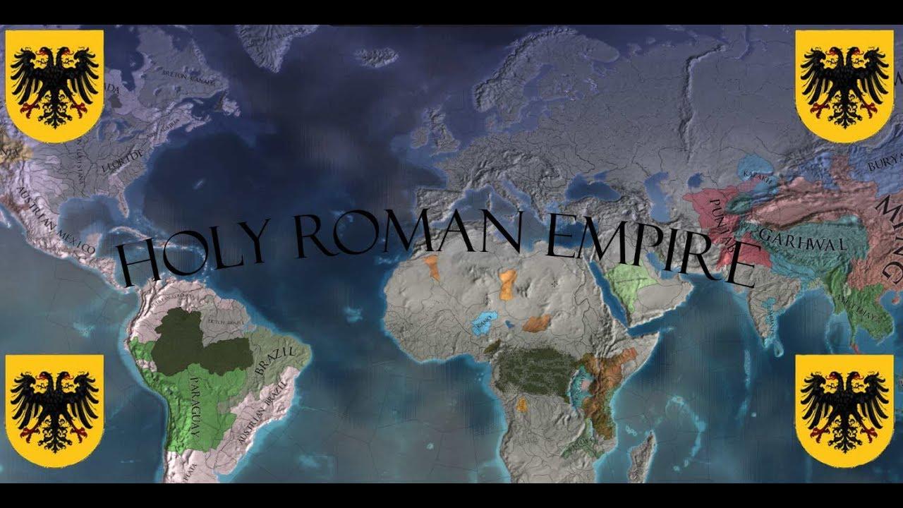 EU4 - Holy Roman Empire as Austria - Timlapse by David Shaw