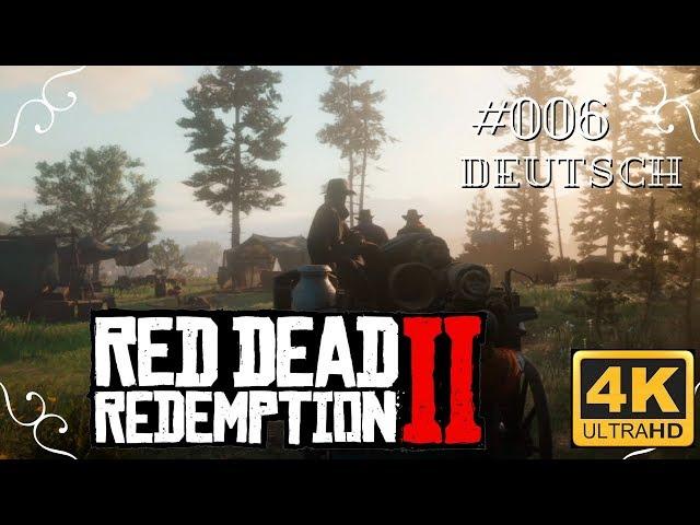 Red Dead Redemption II - #006 - Raus aus den Bergen [Deutsch, ohne Werbung, 4k, UHD, PS4Pro]